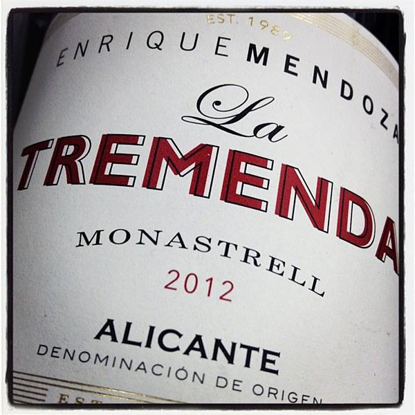 Enrique Mendoza 'La Tremenda' Monastrell 2018